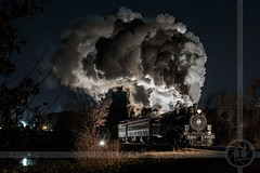 A Cold Night (NanosPhoto) Tags: essex steam train night essexsteamtrain passenger excursion christmas cold winter