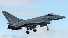 Last spanish Typhoon (by the moment?) (joseluiscel (Aviapics)) Tags: getafelegt eurofighter typhoon ef200 c1678 1436 ala14 10235