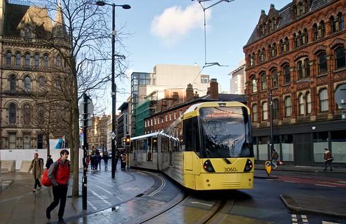 Princess Street. Manchester Metrolink.