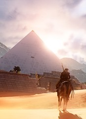 """The Journey Begins"" (L1netty) Tags: assassinscreed assassinscreedorigins ubisoft ubisoftmontreal pc game gaming pcgaming videogame reshade screenshot virtual digital srwe 6k character bayek bayekofsiwa man male people rider horse sky clouds sun sand pyramid color outdoor"