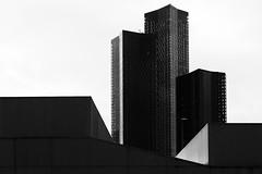 DSC_0759-1 skyline - Manchester (Filip Patock) Tags: skyline manchester modern architecture abstraction artistic art blackwhite bw black white urban uk england contrast city creative nikond3200 high wallpaper geometry geometric lines nikon1855mm