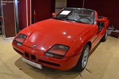 BMW Z1 1989 (Monde-Auto Passion Photos) Tags: voiture vehicule auto automobile cars bmw z1 cabriolet convertible roadster spider sportive rare rareté red vente enchère osenat france fontainebleau