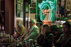 No Photo (Silver Machine) Tags: london soho streetphotography street candid candideyecontact people cafe sitting drinking alfresco nightphotography nightscene groupofpeople fujifilm fujifilmxt10 fujinonxf35mmf2rwr