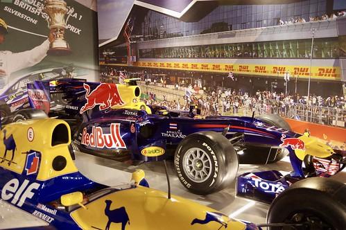 Mark Webber's 2010 Red Bull Renault RB6