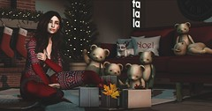Holiday Party (Bellsophie Resident) Tags: {anc} anaposes anc applefall collabor88 deaddollz doux foxwood leijin logo secondspaces thearcade theepiphany trompeloeil yourdreams