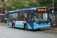 Bluebird Dennis Dart SLF 54 Y254KNB - Manchester (dwb transport photos) Tags: bluebird dennis dart alexander alx200 bus y254knb manchester