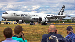 "Airbus A350-1000 displaying at Farnborough airshow • <a style=""font-size:0.8em;"" href=""http://www.flickr.com/photos/125767964@N08/49254861736/"" target=""_blank"">View on Flickr</a>"