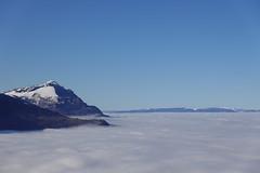 Sea of clouds @ Viewpoint @ La Dent @ Rochers de la Maladière @ Cluses
