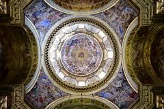 Neapel / Napoli: Cappella del Tesoro di San Gennaro - Giovanni Lanfranco (enzinger_m) Tags: neapel napoli dom duomo kuppel barock fresko malerei lanfranco italien