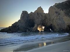 Pfeiffer Beach , Big Sur (Wonder Woman !) Tags: bigsur california pfeifferbeach pacificocean cellphone