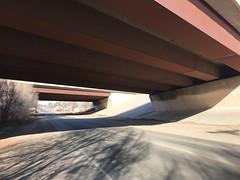 Where the crash happened (f l a m i n g o) Tags: arvada accident under bridge