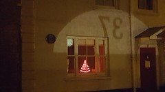 37 at Christmas (John of Witney) Tags: 37 number night light witney westoxfordshire window christmastree
