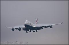 G-CIVZ Boeing 747-436 British Airways (OneWorld) (elevationair ✈) Tags: dub eidw dublin airport dublinairport ireland avgeek aviation airplane plane aiircraft arrival landing jumbo jet jumbojet lump fourholer boeing 747 744 boeing747436 speedbird ba britishairways gcivz iac internationalaeropsacecoatingsltd eirtech