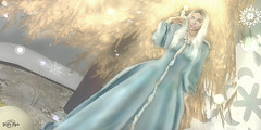 #160 - Fairy Winter Lights (Yvain Vayandar) Tags: driftwood secondlife sl event fairy magic medieval fantasy roleplay winter snow lights magika lotus viki peekaboo soodivinecreations ~asw~