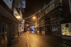 Much Wenlock, Shropshire (Frightened Tree) Tags: much wenlock edge shropshire england quaint olde worlde british historic vintage morris dancing tudor nikon tamron landscape buildings christmas lights winter village town