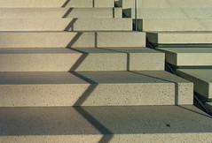 Stairs shadows (frankdorgathen) Tags: alpha6000 sony1018mm city urban mediaharbour medienhafen düsseldorf hyattregency hotel schatten shadow treppe stairs