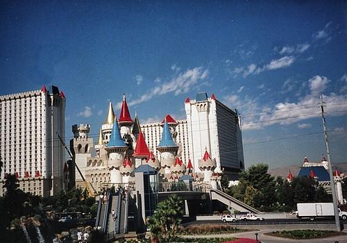 Las Vegas Nevada - Excalibur Hotel and Casino - Vintage