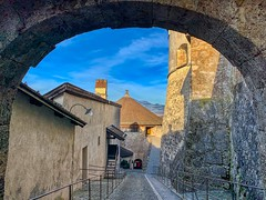 Fortress Kufstein in Tyrol, Austria (UweBKK (α 77 on )) Tags: österreich austria tyrol tirol europe europa iphone kufstein fortress building architecture stone wall history historical