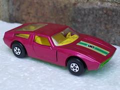 Vintage 1970's Matchbox Superfast Purple Maserati Bora Sports Car (beetle2001cybergreen) Tags: vintage 1970s matchbox superfast purple maserati bora sports car