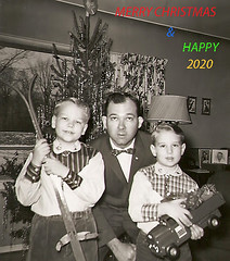 OLDEN DAYS (ddt_uul) Tags: winter whitmorelake snow michigan holiday young youth 50s ski brother father 2020 2019