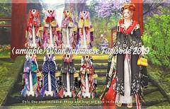{amiable}Oiran Japanese Furisode 2019@N°21(50%OFF SALE). (nodoka Vella) Tags: {amiable} amiable nodoka nodokavella sl secondlife sljp kimono furisode yukata japan japanese newyear costume asia traditional clothing mesh maitreya lara physique hourglass belleza issis freya venus sale n21 slevent event セカンドライフ セール 着物 浴衣 振袖 お正月 半額 花魁 舞子 芸者 costum traditon traditonal 成人式