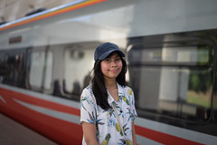 On Her Way Home (* Hazman Zie *) Tags: zeiss fe 55mm f18 za zeissfe55mmf18za train portrait mirrorless ilcea7m2 sonya7m2 explore