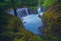 Spirit Falls IV [Explore 12/22/19] (PNW-Photography) Tags: waterscape hidden hiddengem offtrail landscape waterfall waterfalls water washington whitesalmon hiking hike