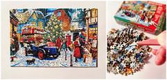 The World's Smallest Jigsaw Puzzle (Moonrabbit_ly) Tags: christmaspuzzle miniature jigsawpuzzle dollhouse