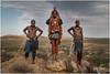 Young Himba People Posing in the Namibian Landscape (RudyMareelPhotography) Tags: africa camp himba himbanamibia natgeotravel ondjongodance rudymareelphotography vanz vanzyls vanzylspass ngc travel travelphotography wanderlust flickrclickx flickr