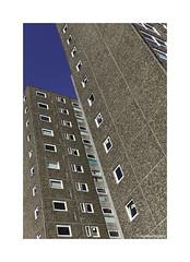 Fulham Boxes © (wpnewington) Tags: concreteboxsolution architecture brutalist socialhousing sky brutal flats boxes concrete london blue lines housing social fulham