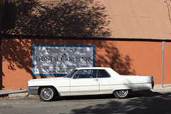 Crystal Keepers (Curtis Gregory Perry) Tags: mountshasta california cadillac 1965 coupe deville white hardtop classic car automobile nikon d810 crystal shop