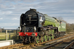 LNER Peppercorn Class A1 No 60163 Tornado - Wansford, Cambridgeshire. (Andrew Bradford Images) Tags: lnerpeppercornclass lner a1 no60163tornado 60163 tornado steam steamlocomotive nvr loco nenevalleyrailway