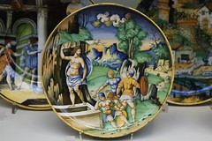Footed bowl with the Resurrection (1535) (just.Luc) Tags: bowl faenza resurrection verrijzenis christ christus religion godsdienst faith religious man male homme hombre uomo mann mannen men männer hommes hombres uomini barechested round rond circle cercle kreis cirkel royaumeuni verenigdkoninkrijk unitedkingdom grootbrittanië grandebretagne greatbritain england angleterre engeland londen london londres victoriaandalbertmuseum va museum museo musée museet museu