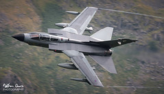 RAF Tornado GR4 ZD707 low level at Thirlmere (NDSD) Tags: low level panavia tornado gr4 thirlmere cumbria flying jet raf lake district plane aviation aircraft