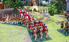 Model soldiers IMG_0855 (alisonhalliday) Tags: miniatures redcoats soldiers army red modelsoldiers canoneosrp canonefs18135mm gateshead colorfulworld cmwdred cmwd