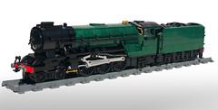 LEGO LNER A2/2 'Thane of Fife' (Britishbricks) Tags: lego lner br british moc custom train engine steam loco a2 p2 a22 thompson gresley thane fife