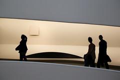 Guggenheim Museum (erichudson78) Tags: usa nyc newyorkcity manhattan guggenheimmuseum canoneos6d canonef24105mmf4lisusm silhouettes trois three museum musée lignes lines
