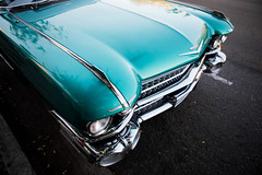 1959 Cadillac Chrome and Front End Detail (Photos By Clark) Tags: california vehicles northamerica subjects canon2470 canon5div carsandtrucks unitedstates location locale places where restored classic fullsize lightroom thesandiegoist
