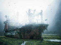 Dead ship (Malcolm Hare Photography and Tuition) Tags: ship composite ghost hss photoshop c a hrefhttpswwwflickrcomgroupsartfilledtreasures titleartistictreasurechestawardimg srchttpslivestaticflickrcom7851466764966650727a3b557qjpg width150 height150 altartistictreasurechestaward badmired