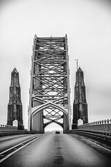 Yaquina Bay Bridge (Thomas Hawk) Tags: america newport oregon oregoncoast usa unitedstates unitedstatesofamerica yaquinabaybridge bridge fav10 fav25 fav50 fav100