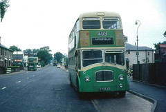 Lost links (DaveAFlett) Tags: londoncountry lcbs nationalbuscompany 1976 9935cd leyland titanpd3
