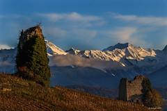 Dernier rayon de soleil... (Savoie 11/2019) (gerardcarron) Tags: automne canoneos80d landscape massifdesbelledonne mountains savoie chignin es