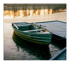 Early winter morning at Lake Kell (werner-marx) Tags: analog film meinfilmlab mediumformat agfaisoletteiii solinar kodakportra160 kellamsee winter