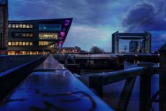 The Barage Hull (ALANSCOTT1) Tags: hull deep dark layering affinity barrage urban evening city cityscape blue purple