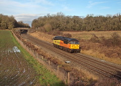 56049 at Besford (james_olympus) Tags: colas class56 56049 lightengine besford