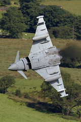 ZK319 3(F)SQN Typhoon (PhoenixFlyer2008) Tags: eurofighter typhoon lowflying machloop wales canon royalairforce coningsby speed military fighter pilot 3fsqn lowlevel aviation aircraft aircrew