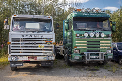 Retired Scania trucks (Burminordlicht) Tags: truck truckphotos truckpics trucks truckimages scrapyard scania scaniatruck abandoned abandonedtrucks retiredtrucks rusty rustytruck oldtruck oldtrucks sweden swedishtrucks lastwagen lkw lastwagenbilder lastwagenfotos lastebil lastbilar