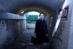 'Eleanor' (AndrewPaul_@Oxford) Tags: eleanor ecce natural light bluebell railway 1940s environmental portrait subway wraf womens royal air force