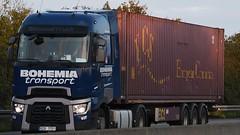 CZ - Bohemia Transport Renault Range T Highsleeper (BonsaiTruck) Tags: bohemia transport renault range highsleeper lkw lastwagen lastzug truck trucks lorry lorries camion caminhoes