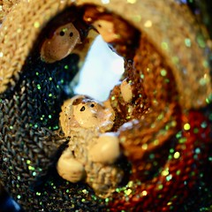 Gift of Love (BusyBl.Mtns.Grandma) Tags: macromondays bestwithholidaysis nativity gift love christmas baby jesus christ mary joseph
